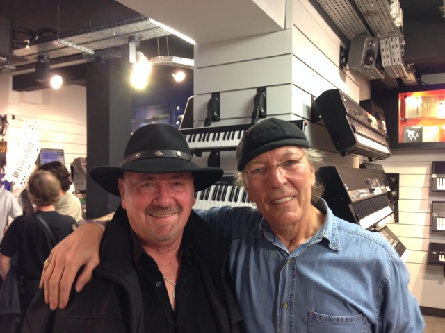 Avec Celmar Engel